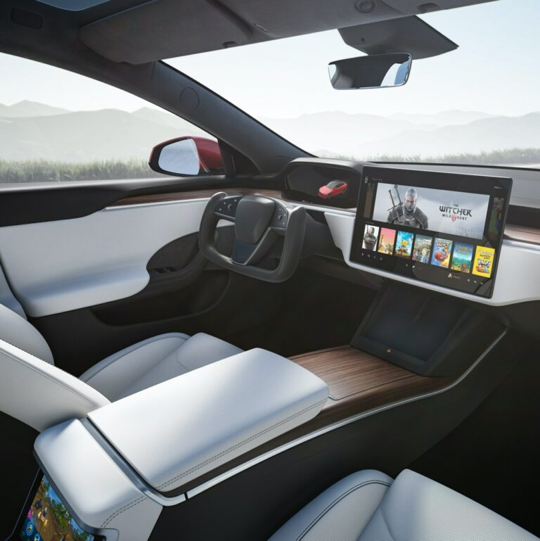 The Tesla Model S and Model X